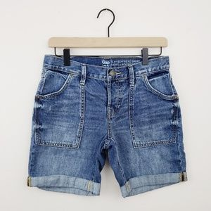 GAP 》Sexy Boyfriend Shorts